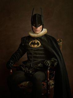 Batman -  12 Flemish superhero portraits to make you long for a 17th century retelling