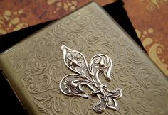Metal Cigarette Case--this is just so nice, and you don't have to put cigarettes in it!