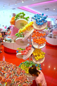 F.A.O Schwarz - NYC Candy Store Design, Candy Room, Candy Display, Sugar Candy, Chocolate Shop, Candy Party, Candy Buffet, Candyland, Confectionery