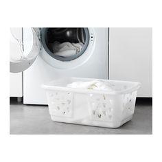BLASKA Clothes-basket White 36 l - IKEA e1c0734ae642d