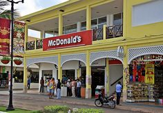 McDonald's - Cozumel Cole thought he wanted breakfast, but passed up the beans on an English muffin topped with pico. lol