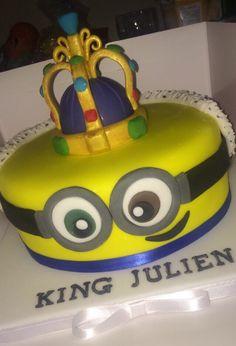 King Bob Minion Cake Despicable Me Cakes Pinterest Minion
