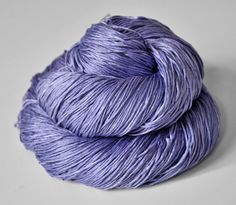Withering bluebell   Silk Yarn Fingering weight by DyeForYarn, €23.50