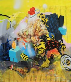 150 x 130 cm, acrylic and spray on canvas 15 December, April 1st, July 4th, Urban Behavior, Garden Of Earthly Delights, Hieronymus Bosch, Film Photography, My Works