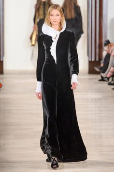 """Ralph Lauren - """"The pleated cuffs and sculptural collar are beyond glamorous."""""""