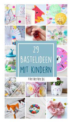 Kids Corner, Art Journal Inspiration, Diy And Crafts, German, Crafting, Lifestyle, Baby, Crafts For Kids, Diy Presents