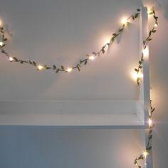 Feuilles vertes LED Galand String lumières / par AutumnWeddings
