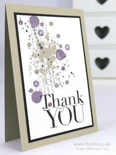 Stampin' Up! Demonstrator Pootles - Another Gorgeous Grunge Thank You!