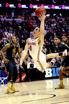 I know it isn't the season but doesnt he make you smile! Aaron Craft - Ohio State