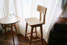 高脚L背椅手工家具梵几·家具品牌 fnji furniture online shop