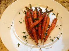 Balsamic Glazed Oven Roasted Baby Carrots