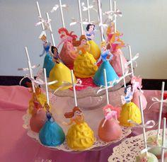 Disney Princess Cake Pops