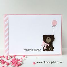 Margriet; Stampin 'Up! Order: Fox Builder bear