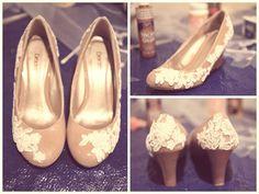 DIY Lace shoes Tutorial!