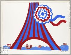 * Affiche Villemot années 60