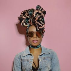 Restocked!  Hawa Headwrap  Shop: ceeceesclosetnyc.com  #headwraps #headwrap #protectivestyles #protectivehairstyles #protectivestyling #blackgirlmagic