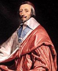 Louis XIII and Cardinal Richelieu:  Armand Jean du Plessis, or more commonly referred to as Cardinal Richelieu, served as the chief minister to Louix XIII, the King of France, from 1624 to 1642.  He was a staunch advocate of an absolutist monarchy in France.