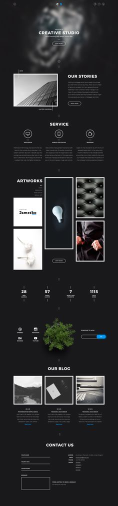 Landing page full ver