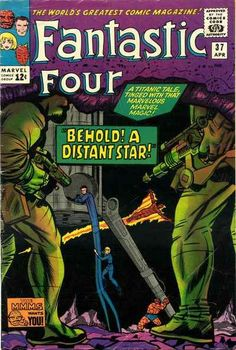 Fantastic Four 37 - Stan Lee and Jack Kirby Fantastic Four Comics, Mister Fantastic, Old Comics, Vintage Comics, Jack Kirby, Stan Lee, The Mole, Mole Man, Comic Book Collection