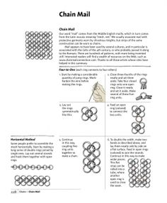 Chain Maille, Basics Patterns. by Max of Moxy Metals | Technique | Jewelry / Chain Making | Kollabora