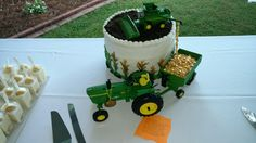 Tractor groom cake idea from Pinterest