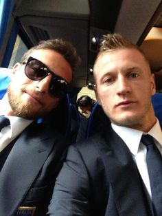 Claudio Marchisio  Ignazio Abate, love them both ♥