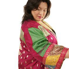 Evening Coat Plus-Size Formal Kimono Coat Fuschia Gold Multi  SHOP NOW: Unique jackets for women Sizes 14 - 36, mother of the bride, special occasion, artwear, elegant and unique women's clothing,xoPeg #PeggyLutzPlus #PlusSize #style #plussizestyle #plussizeclothing #plussizefashion #womenstyle #womanstyle #womanfashion #holidaysale #holidaystyle #fallstyle #fallfashion #fallformal  #couture #divastyle