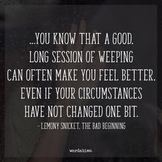 Lemony Snicket quotes