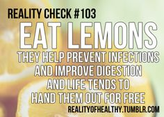 when life gives you lemons...eat them!