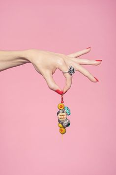 "The Piece Of Statement Jewelry That Says, ""Let's Drink!"" #refinery29  http://www.refinery29.com/statement-cocktail-rings#slide5  Ben Amun Betty, Grace, and Marilyn rings."