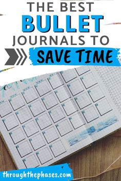 The Best Premade Bullet Journals to Save You Time!  Buying a premade bullet journal can save you so much time and energy in the creative process. If you feel like you're not very artistic and you'd prefer to have a simple bullet journal layout to follow, these premade bullet journals are a great option!  how to start a bullet journal | bullet journal ideas 2020 | bullet journal layout templates | bullet journal inspiration | Bullet Journal Layout Templates, Bullet Journal Headers, Bullet Journal Tracker, Bullet Journal Themes, Bullet Journal Inspiration, Bullet Journals, Journal Ideas, Self Care Bullet Journal