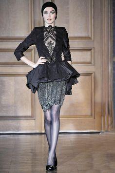 #Christian Lacroix Haute Couture Autumn/Winter 2009/10 #On Trend Peplum 2013
