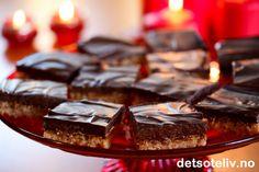 Sarah Bernhardt i langpanne uten nøtter (med Ritz-kjeks) Ritz Biscuits, Scandinavian Food, Chocolate Dreams, Sweet Life, Almond, Cheesecake, Sweets, Popular, Cookies