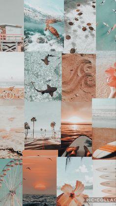 Iphone Wallpaper Themes, Iphone Wallpaper Tumblr Aesthetic, Cute Patterns Wallpaper, Iphone Background Wallpaper, Aesthetic Pastel Wallpaper, Aesthetic Wallpapers, Beach Wallpaper, Summer Wallpaper, Nature Wallpaper