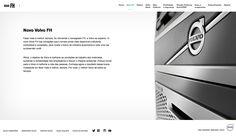 Folheteria Volvo Caminhões. Redatora Patricia Schmidt. Commcepta Brand Design.