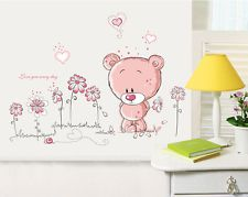 Wall art idea- teddy- decals