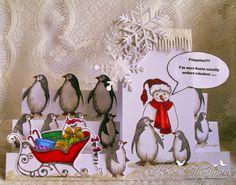 Schokolade Barock Design Team: funkelnde Schneeflocken und ein Pinguin-Party (von Claire veröffentlicht)