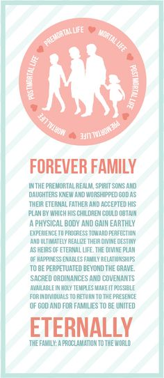 The Family: A Proclamation; Come Follow Me Youth Sunday School: August, Marriage and Family