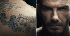 David Beckham's Tattoos May Look Cool, But The Story They Tell Is Heartbreaking