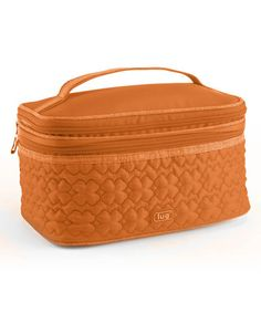Take a look at the Lug Sunset Orange Two-Step Cosmetic Bag on #zulily today!