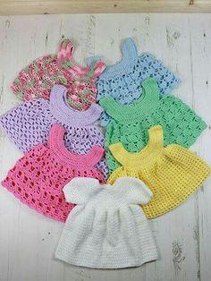 Vestidinho de crochet