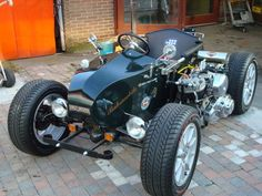 Nog meer piccies in 'pics deeltje Motorcycle Paint Jobs, Trike Motorcycle, Motorcycle Design, Trike Chopper, Vintage Motorcycles, Cars And Motorcycles, Concept Motorcycles, Bike Cart, Gt Turbo