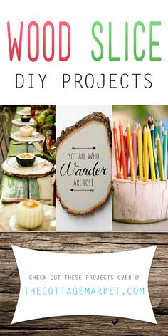 Wood Slice Diy Projects