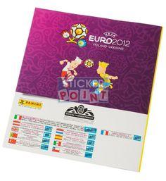 Panini EM Euro 2012 Sammelalbum international Rückseite
