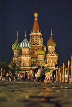 """""""Cattedrale di San Basilio"""" della turistapercaso Ste.Lombardo (Mosca, Russia)"""