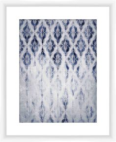 Fade Pattern Giclee Print Framed Graphic Art