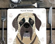 Scottie Dog personalised placemat/coaster by SimonHartArtist