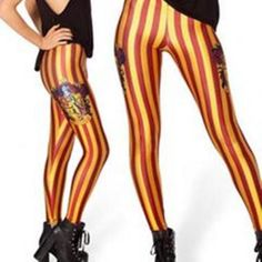 Harry Potter Gryffindor Tights Harem Pants, Harry Potter, Tights, Geek, Clothing, Fashion, Navy Tights, Outfits, Moda