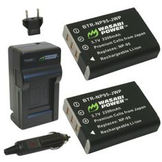Wasabi Power Battery and Charger Kit for Fuji NP-95, and Fuji FinePix REAL 3D W1, X100, X100S, X-S1 Wasabi Power,http://www.amazon.com/dp/B005CRHM5C/ref=cm_sw_r_pi_dp_DPKJsb0PCPKW2V66