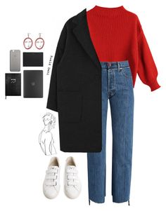 Fashion Looks 861524603703999096 - Credit: Pinned by Chocolate Cheek Source by stylishbeautybabes Mode Outfits, Trendy Outfits, Fall Outfits, Fashion Outfits, Womens Fashion, School Outfits, Winter Outfits Korea, Fashion Sets, Look Fashion